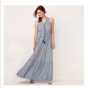 LC Lauren Conrad MAxi Dress L